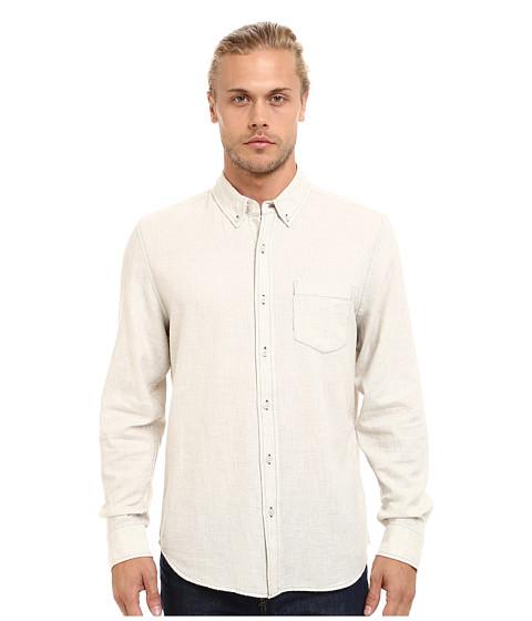 Imbracaminte Barbati AG Adriano Goldschmied Heather Twill Flannel Nibus Shirt Powder White