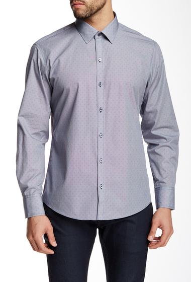 Imbracaminte Barbati Zachary Prell McKay Long Sleeve Shirt BLUE