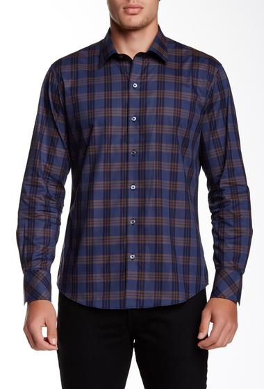Imbracaminte Barbati Zachary Prell Acheson Long Sleeve Trim Fit Shirt NAVY