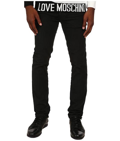 Imbracaminte Barbati LOVE Moschino Moschino Graphic Denim Black