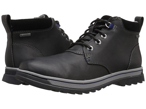 Incaltaminte Barbati Clarks RipwayHill GTXreg Black Leather