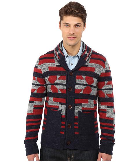Imbracaminte Barbati Lucky Brand Intarsia Shawl Sweater Multi