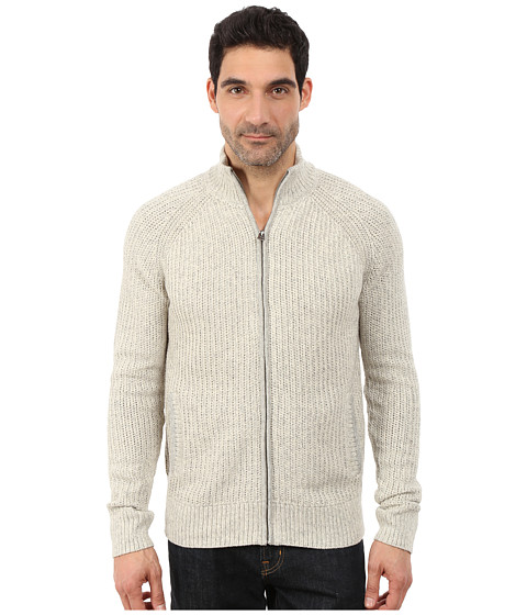 Imbracaminte Barbati Lucky Brand Glacier Peak Zip Cardigan Light Heather Grey