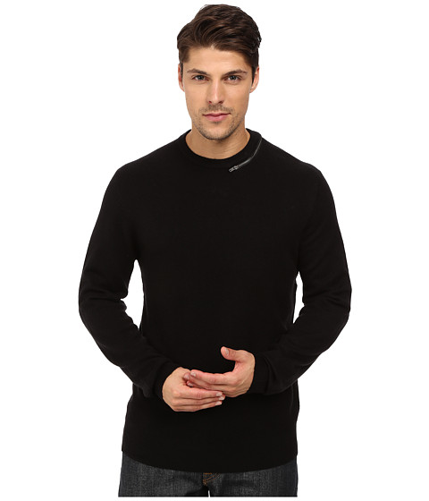 Imbracaminte Barbati French Connection Svhari Zip Knits Sweater Black