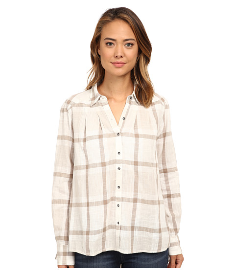 Imbracaminte Femei Free People Slubby Yarn Dyed Cotton Peppy In Plaid Ivory Combo