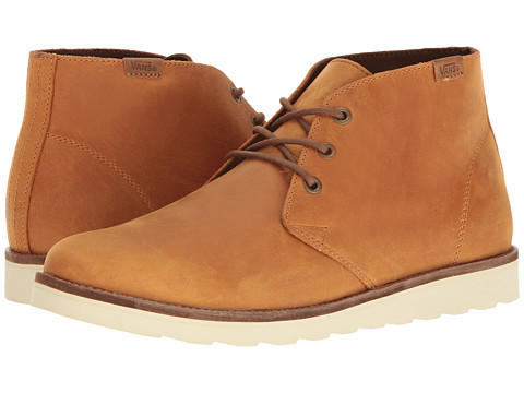 Incaltaminte Barbati Vans Desert Chukka (Leather) Honey Brown