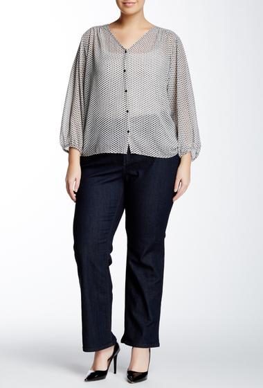 Imbracaminte Femei NYDJ Hayden Straight Jean Plus Size DK ENZYME WASH