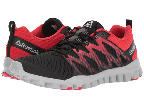 Incaltaminte Barbati Reebok RealFlex Train 40 BlackPrimal RedStark Grey