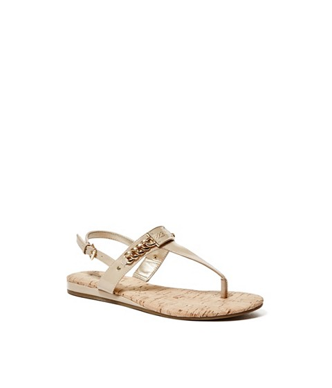 Incaltaminte Femei GUESS Jadeene Sandals light natural leather