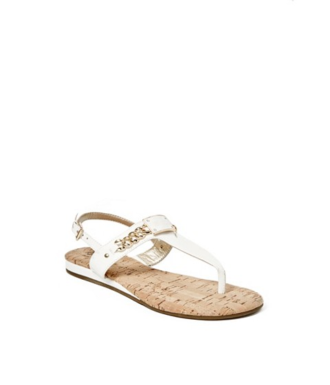 Incaltaminte Femei GUESS Jadeene Sandals white