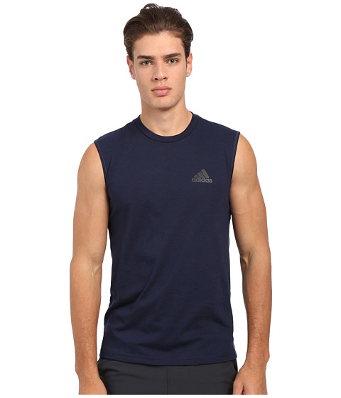 Imbracaminte Barbati adidas Go-To Performance Sleeveless Tee Collegiate NavyBlack