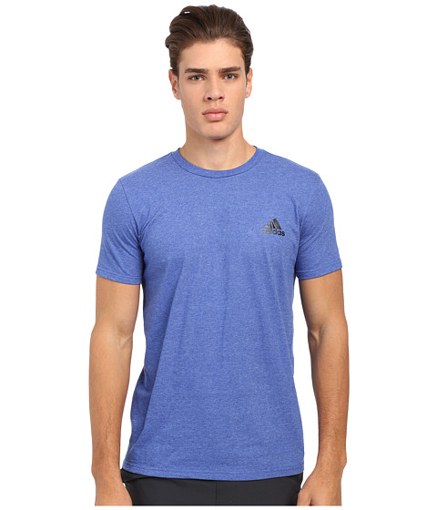 Imbracaminte Barbati adidas Go-To Performance Short Sleeve Crew Tee Coll Royal HeatheredSolid