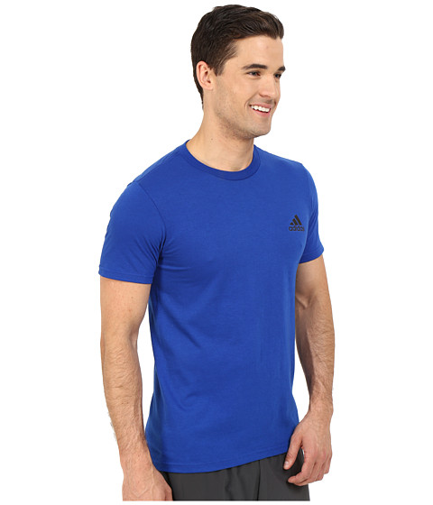 Imbracaminte Barbati adidas Go-To Performance Short Sleeve Crew Tee Collegiate Royal Blue