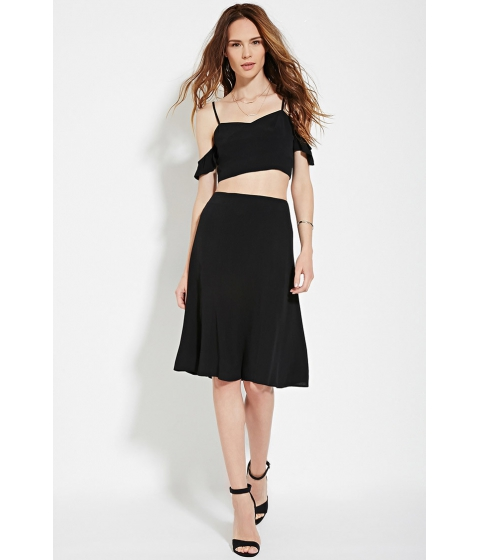 Imbracaminte Femei Forever21 Contemporary Cami Crop Top Black