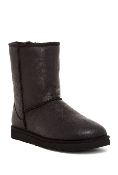 Incaltaminte Barbati UGG Classic Short Leather Boot BLK