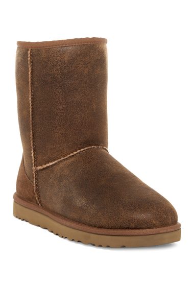 Incaltaminte Barbati UGG Classic Short Genuine Sheepskin Bomber Boot BJCE