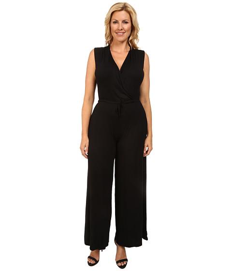 Imbracaminte Femei Culture Phit Plus Size Danielle Wrap Romper Black