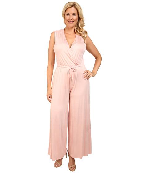 Imbracaminte Femei Culture Phit Plus Size Danielle Wrap Romper Dusty Pink