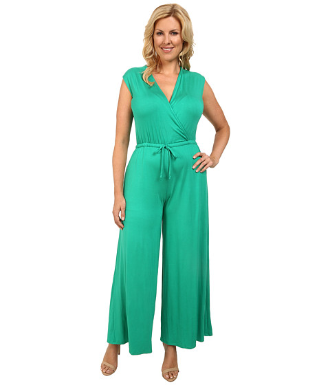 Imbracaminte Femei Culture Phit Plus Size Danielle Wrap Romper Kelly Green