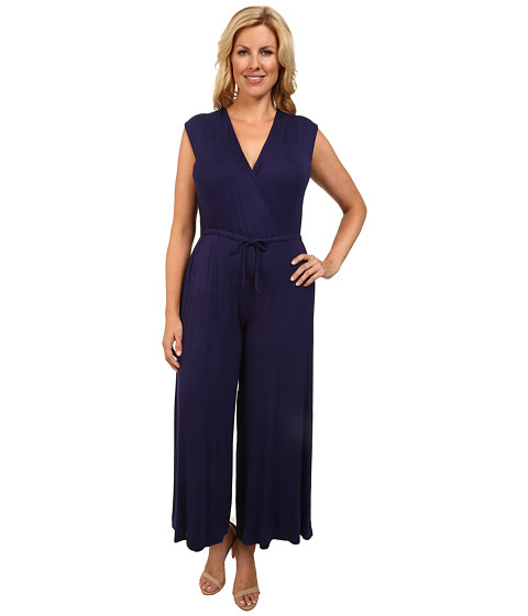Imbracaminte Femei Culture Phit Plus Size Danielle Wrap Romper Navy