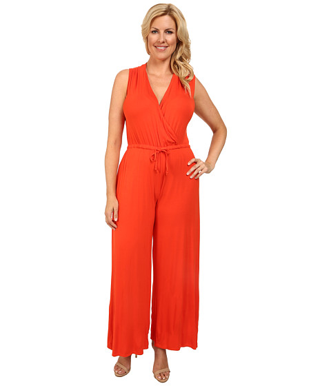 Imbracaminte Femei Culture Phit Plus Size Danielle Wrap Romper Orange