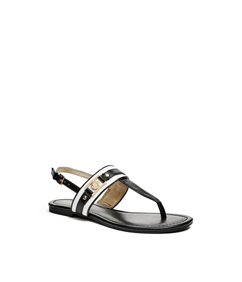Incaltaminte Femei GUESS Sahar Sandals white multi leather
