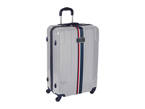 Genti Femei Tommy Hilfiger Lochwood Upright 28quot Suitcase Silver