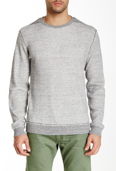 Imbracaminte Barbati Diesel Sebatien Thermal Sweatshirt DARK GREY MELANGE