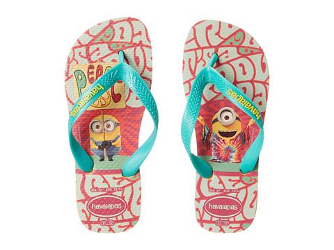 Incaltaminte Fete Havaianas Minions Flip Flop (ToddlerLittle KidBig Kid) Banana Yellow