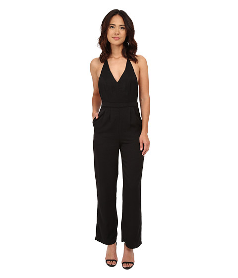 Imbracaminte Femei MINKPINK Take Care Halter Jumpsuit Black