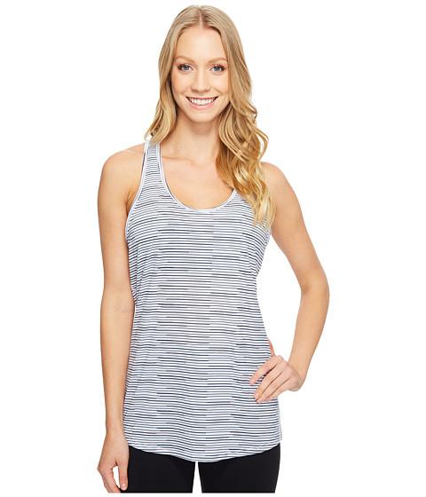 Imbracaminte Femei Lucy Workout Racerback Lucy Black Broken Stripe Print