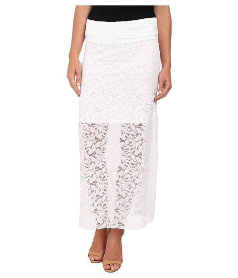 Imbracaminte Femei kensie Botnical Lace Skirt KS5K6147 White