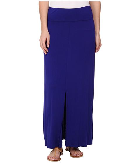 Imbracaminte Femei kensie Lightweight Viscose Spandex Skirt KS4K6145 Imperial Purple Combo