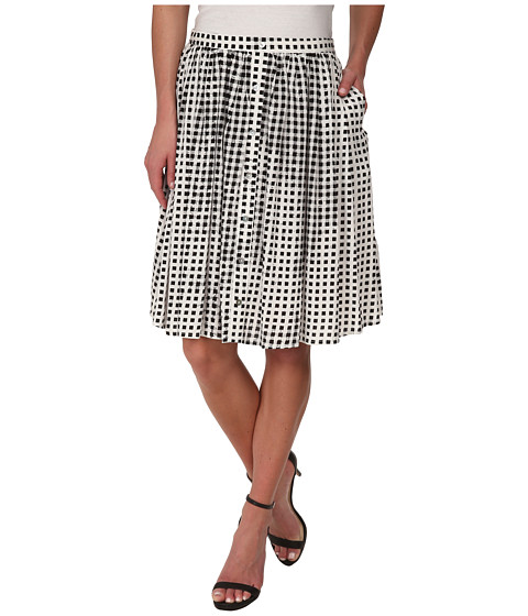 Imbracaminte Femei MINKPINK Gingham Midi Skirt Black