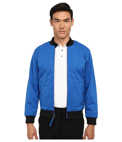 Imbracaminte Barbati Marc by Marc Jacobs Neoprene Jacket Blue
