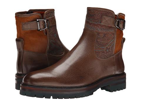 Incaltaminte Barbati Etro Ankle Boot Brown Multi