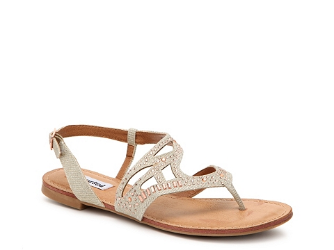 Incaltaminte Femei Not Rated Buttercup Flat Sandal Nude
