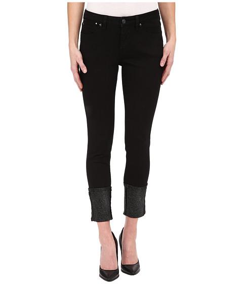 Imbracaminte Femei Jag Jeans Evan Long Glitter Cuff Capital Denim in Black Black