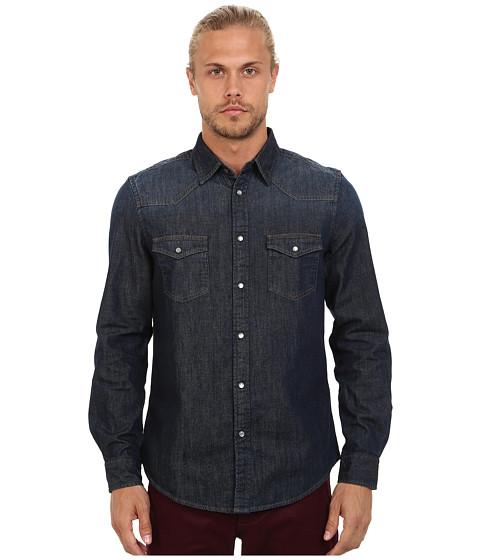 Imbracaminte Barbati Ben Sherman Long Seeve Denim Western Shirt MA11406 Three Month Vintage Indigo