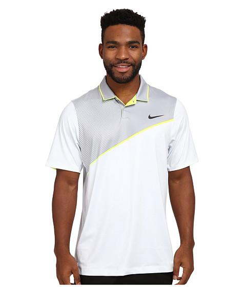 Imbracaminte Barbati Nike Golf Momentum 26 Polo Pure PlatinumVoltAnthracite