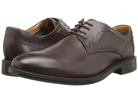 Incaltaminte Barbati Clarks ChilverWalk GTXreg Dark Brown Leather