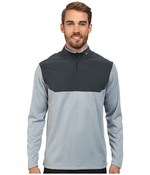 Imbracaminte Barbati Nike Golf Dri-Fit 12-Zip Top Dove GreyClassic CharcoalClassic CharcoalWolf Grey