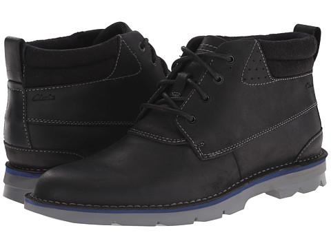 Incaltaminte Barbati Clarks Varick Hill Black Leather