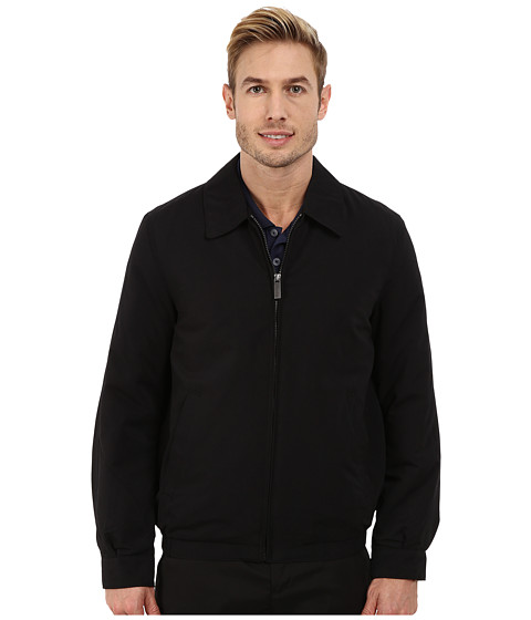 Imbracaminte Barbati Perry Ellis Microfiber Golf Jacket Black