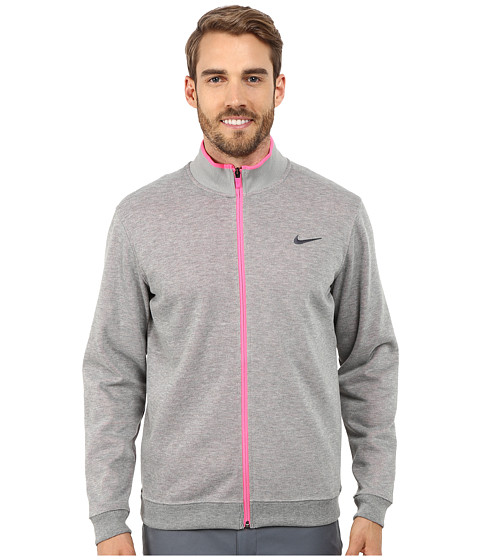 Imbracaminte Barbati Nike Shield Dri-Fit Wool Jacket Wolf GreyHeatherPink PowderAnthracite