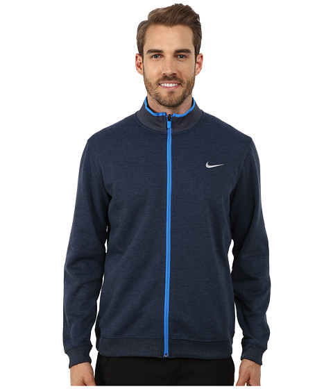 Imbracaminte Barbati Nike Shield Dri-Fit Wool Jacket Midnight NavyHeatherPhoto BlueWolf Grey