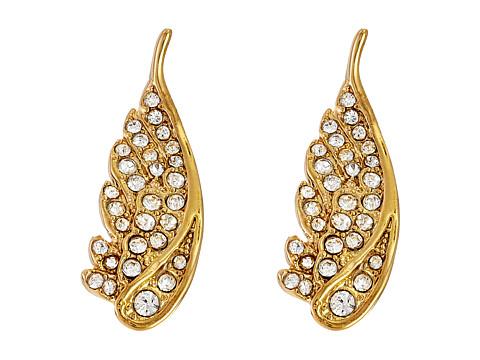 Bijuterii Femei Rebecca Minkoff Pave Wing Ear Climbers Earrings Gold TonedCrystal