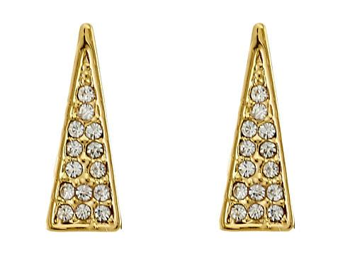 Bijuterii Femei Rebecca Minkoff Triangle Pave Ear Climbers Earrings Gold TonedCrystal