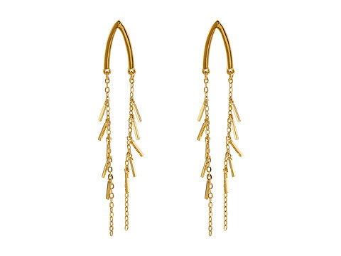Bijuterii Femei Rebecca Minkoff Wishbone Drop Earrings Gold Toned
