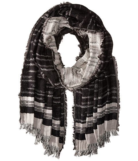 Accesorii Femei BCBGMAXAZRIA Distressed Stripe Solid Black